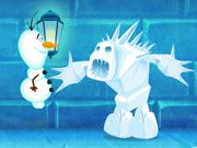 الغاز القلعة: frozen castle adventure