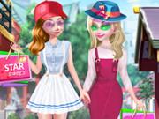 تلبيس ملابس الخروج للشارع للتبضع: frozen spring street fashion