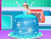 طبخ كعكة فروزن الشهية: how to make a frozen princess cake
