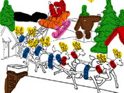 تلوين رسومات كبيرة: merry christmas coloring book 2