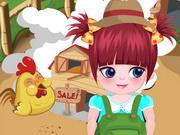 بنات صغار وحياة البنت الخاصة: mia pasture life