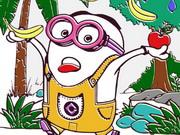 تلوين للاطفال عمر 3 سنوات: minions coloring book ii