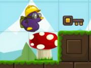 مغامرات بنات هاي تن: moley the purple mole