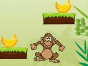 مغامرات القرد والموز: monkey banana jump