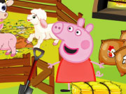 إطعام الصغار: الخنزير بيبا تغذية الحيوانات