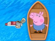 الخنزير الذكي وطريق البحر: piggy looking for the sea road
