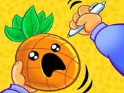 اصابة التفاحة والأناناس