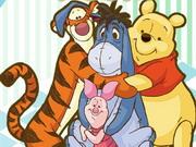بو الدب ديكور الغرفة: pooh bear room
