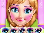 مكياج عيون خفيف: princess anna eye makeup