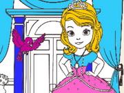 تلوين أميرات جميلات