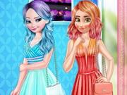 بنات تلبيس اخر حاجة: princess cool color vs warm color