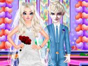 عرايس: الأميرة إلسا التجهيز من أجل الزفاف