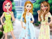البنات تلبيس فتيات الزهور: princess in floral dress