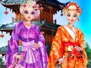الاميرات تسافر حول العالم: princess travel around the world