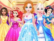 بنات اون لاين تلبيس حفلة كوكتيل: princesses cocktail party