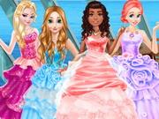 بنات اميرات رائعات الجمال: princesses cruise ball