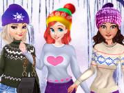 تلبيس ملابس الشتاء 2019: princesses cute winter sweater