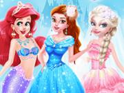 تلبيس عرايس 2019: princesses different style wedding