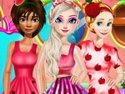 الأميرات عاشقة الفواكه