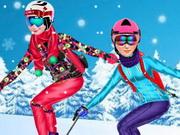 التزحلق على الثلج: princesses go skiing