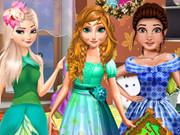 تلبيس بنات جميلة ورقيقة وروعة: princesses leaf show