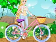 اصلاح دراجة البنت الصغيرة: rapunzel repair bicycle