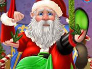 انقاذ سانتا المجروح وظبي الكريسماس: save injured santa and christmas elk