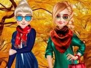 بنات تلبيس ملابس الخريف بنات تعب قلبي الصفحه 14: sisters fall sweater