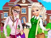 الأخوات يذهبون إلي كلية أرندال