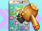 اثارة واكشن: smashing the phone