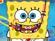 طبيب اسنان الاسفنجة الصفراء سبونج بوب