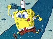 سبونج بوب اكشن الذهاب للعمل: spongebob going to work