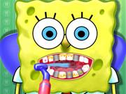 سبونج بوب جراحة الأسنان