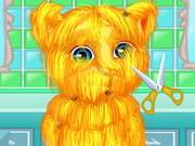 قص الشعر القط جنجر الناطق