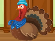 بنات تلبيس تركيا الدجاجة في عيد الشكر: thanksgiving dressup turkey