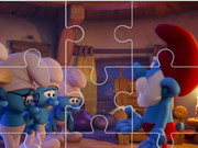 مغامرات السنافر الجديدة فلاش عيون: the smurfs jigsaw