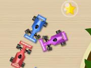 سباق سيارات صغيرة للأطفال