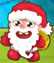 ايقاظ سانتا الرجل النائم