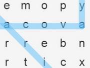 البحث عن الحروف المفقودة: word search