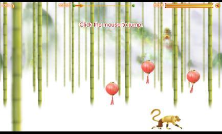 ذكاء القرد والبالونات