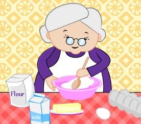 الجدة كرزة