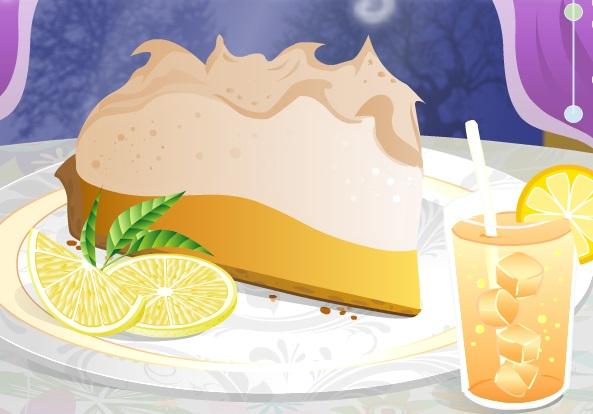 اكاديمية تعليم الطبخ 2 فطيرة مارينج الليمون