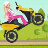 دراجة باربي النارية