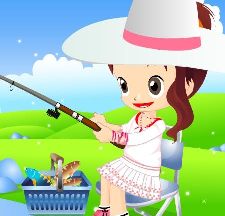 باربي صيد السمك