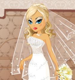 العروسة باربى تلبيس