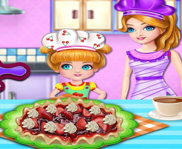 طبخ الام وابنتها