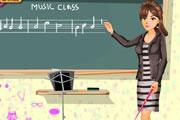 تلبيس معلمة المدرسة
