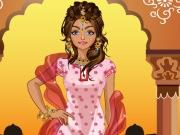 تلبيس ملابس هندية