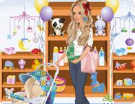 تلبيس البنت الطويلة الحامل