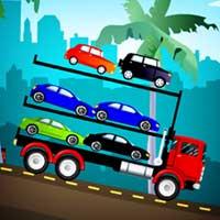 شاحنة نقل السيارات الجديدة